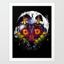 Power Behind the Mask Art Print
