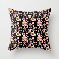 florence Throw Pillows featuring Florence by Mligiacarvalho