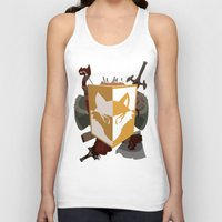kit king Tank Tops featuring Adventurer's kit by Armored Collective