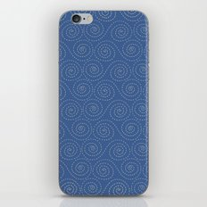 Sea Swirls iPhone & iPod Skin
