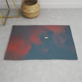 Cloud Bleeding Mars for Moon Rug