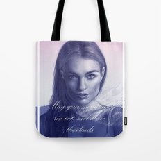 A song to the mountains Tote Bag