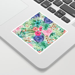 Watercolor Floral Bouquet No. 2 Sticker