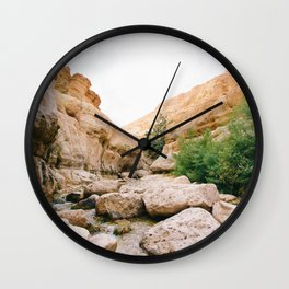 The Desert Mountain Wall Clock