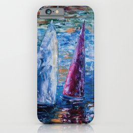 Sails To-Night iPhone Case