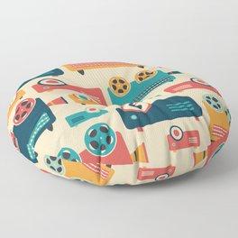 Retro Projectors Floor Pillow