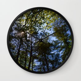 Hammock Skies 2 Wall Clock