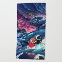 Ponyo Beach Towel