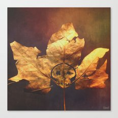 Death Leaf Canvas Print