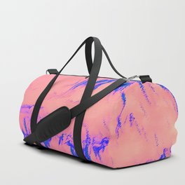 I See Beauty - Blue Hug Duffle Bag