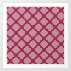 Cute 2 Pink Art Print