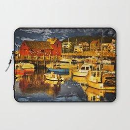 Motif Number 1 , Bearskin Neck, Rockport MA Laptop Sleeve