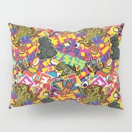 Kaiju Graffiti Pillow Sham