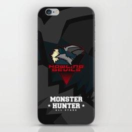 Monster Hunter All Stars - Howling Devils iPhone Skin