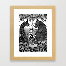 Beltane Gamble Framed Art Print