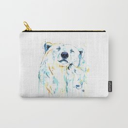 Polar Bear Unconditional Love Carry-All Pouch