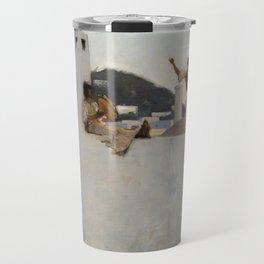 """John Singer Sargent """"Capri"""" Travel Mug"""
