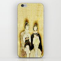 marx iPhone & iPod Skins featuring MARX BROTHERS - 004 by Lazy Bones Studios