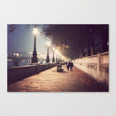 London Stroll  Canvas Print