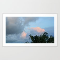 Hawaii Clouds Art Print