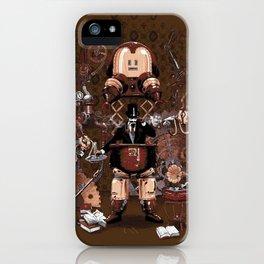 Iron gentleman iPhone Case