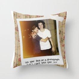 Larry Stylinson Throw Pillow