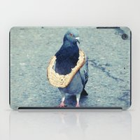 hiphop iPad Cases featuring HipHop Dove Wait by Sigurdfisk