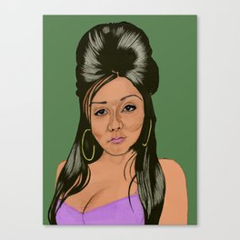 Snooki  Canvas Print