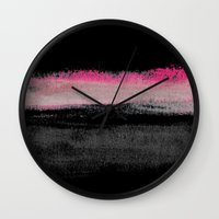 silence of the lambs Wall Clocks featuring Silence by Georgiana Paraschiv