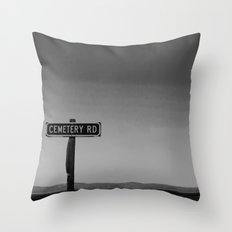 No One Cried Throw Pillow