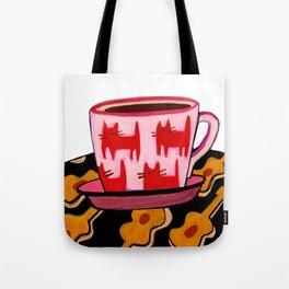 a cup of calmness .. Tote Bag