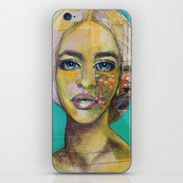 Bea Turquoise iPhone Skin