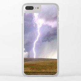 Landspout Clear iPhone Case