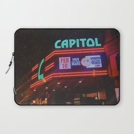 Vintage Movie Theater Laptop Sleeve