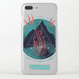 Mountain of Madness Clear iPhone Case