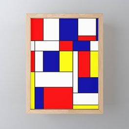 Mondrian #38 Framed Mini Art Print