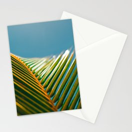 green and turquoise Stationery Cards