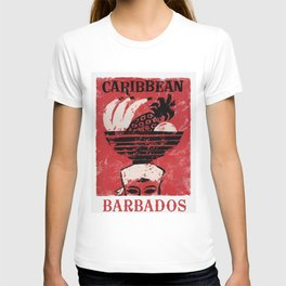 Barbados - Vintage Caribbean Travel T-shirt