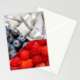 Healthy Czech Flag Stationery Cards