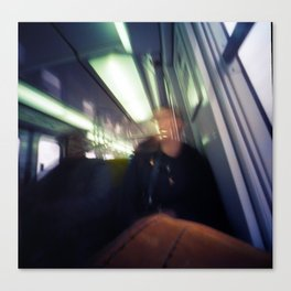 RER Ghosts Canvas Print