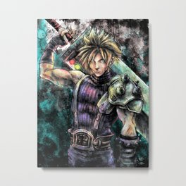 Hero of the Lifestream Metal Print
