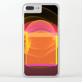 Shape Shifter Clear iPhone Case