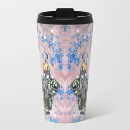 The Lovers In Pink Travel Mug