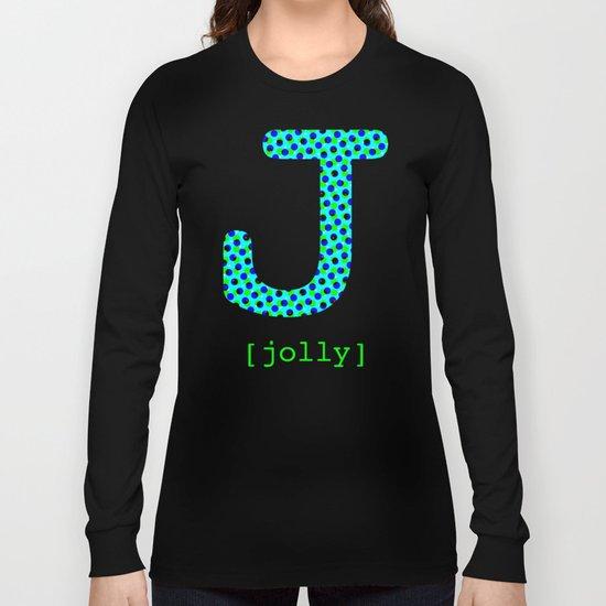 #J [jolly] Long Sleeve T-shirt