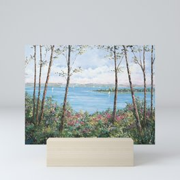 Peaceful Harbor Springs Mini Art Print