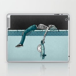 Skate 'til Late Laptop & iPad Skin
