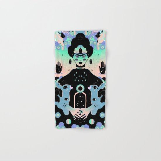 Las lunas de Frida Hand & Bath Towel