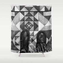 Art Beneath Our Feet - Berlin Shower Curtain