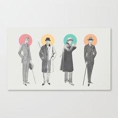 Classy Canvas Print