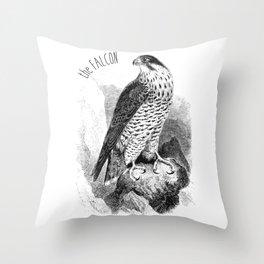 The Peregrine Falcon Throw Pillow